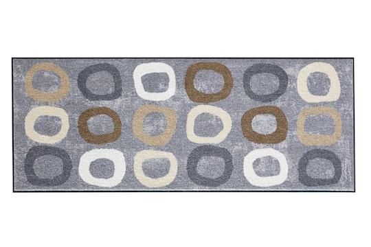 heine home Fußmatte - grau-natur