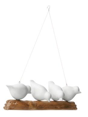 heine home Deko-Ast mit Vögel - natur-weiß