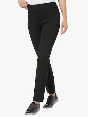 Stehmann Comfort line Jersey-Hose - schwarz