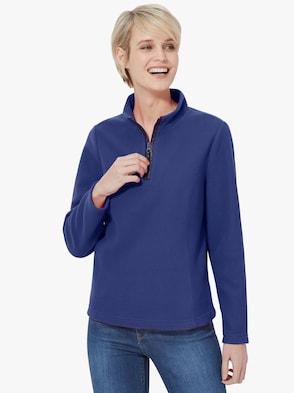 Fleeceshirt - koningsblauw