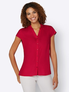 Collection L Bluse - rot