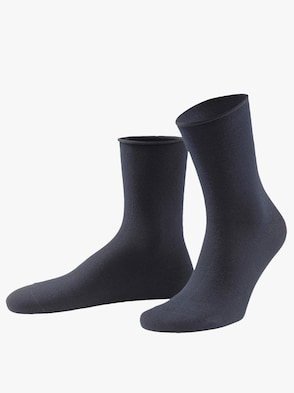 Dámske ponožky - námornícka modrá