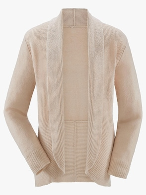 Strickjacke - sand