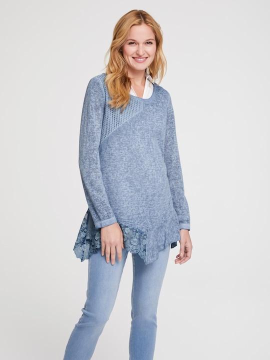 Linea Tesini Shirt - graublau