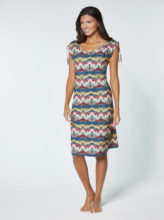 feel good Sommerkleid - topas-gemustert