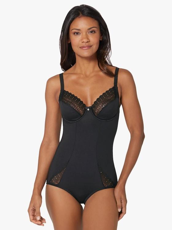 Sassa Body met beugels - zwart