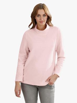 Fleecové tričko - růžová