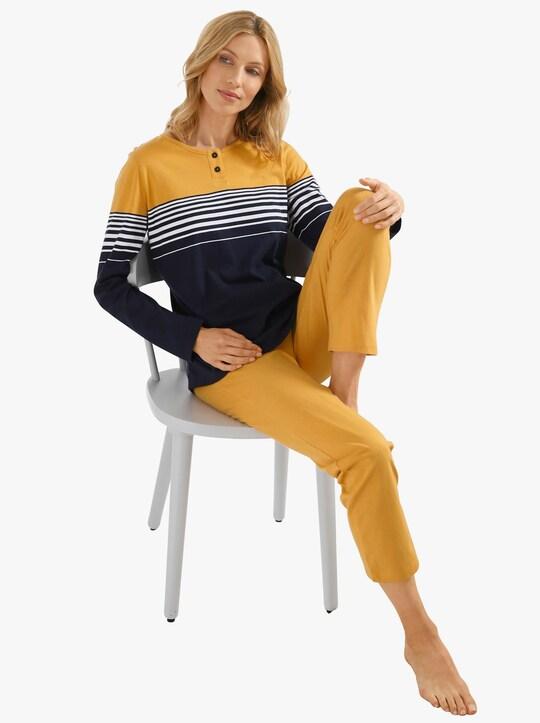 wäschepur Schlafanzug - ocker