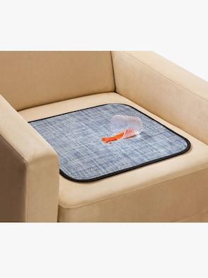 Wasserdichte Sitzauflage - grau