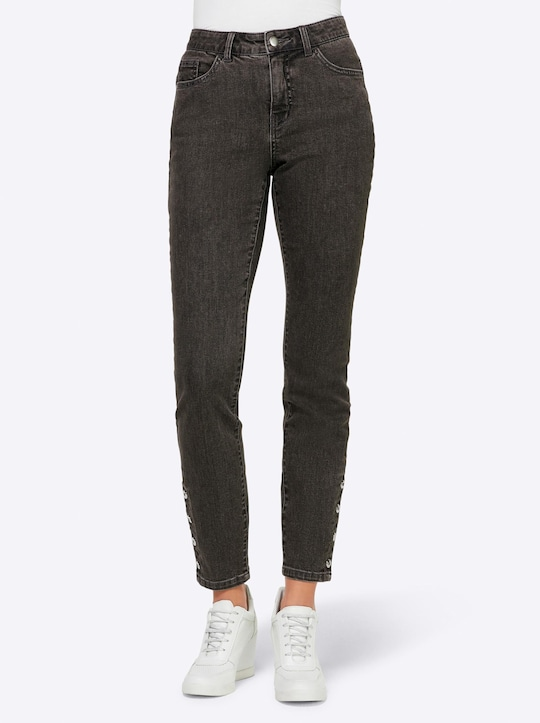 Rick Cardona Jeans - grey denim