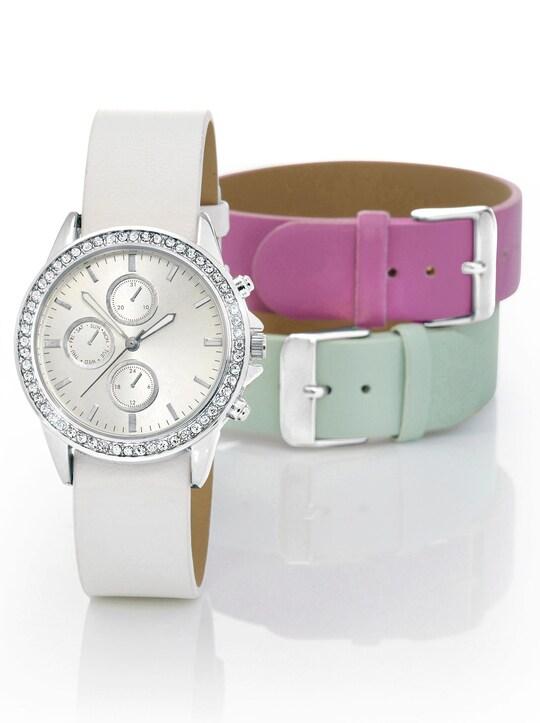 Armbanduhr - weiß