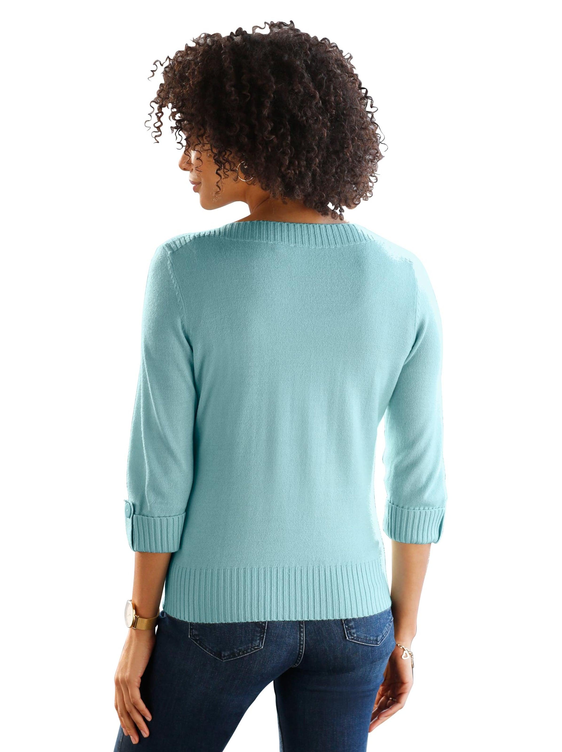 witt weiden -  Damen Pullover aqua