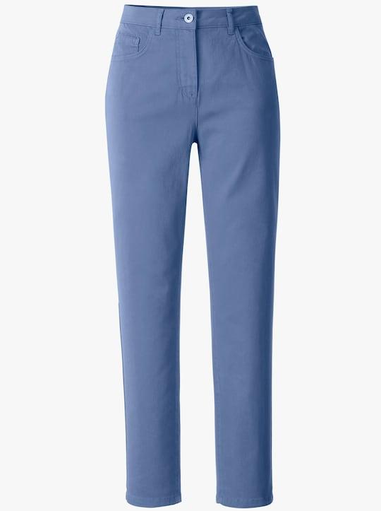 Collection L Hose - jeansblau