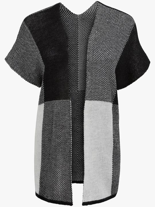 Vest - zwart/grijs