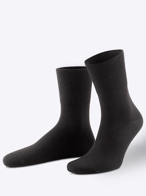 wäschepur Socken - schwarz