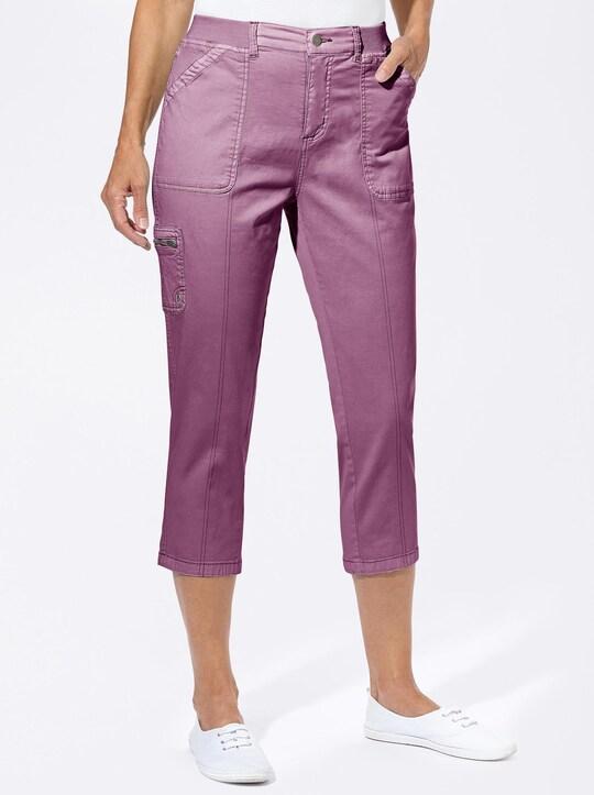 Hose wadenlang - violett