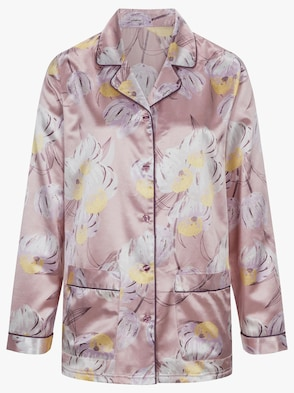 Pyjama - mauve-bedruckt