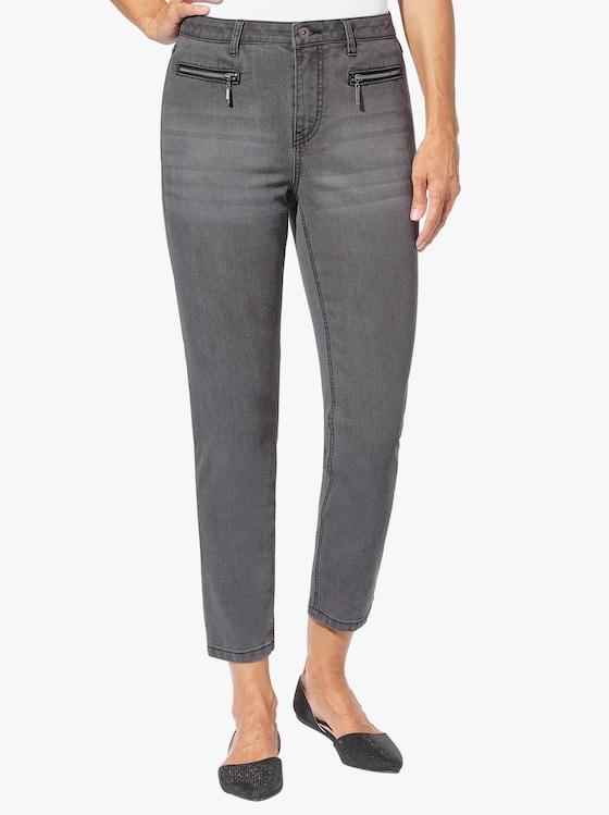7/8-Jeans - dark grey-denim