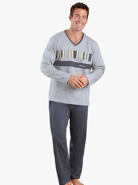 Top Ten Schlafanzug - grau