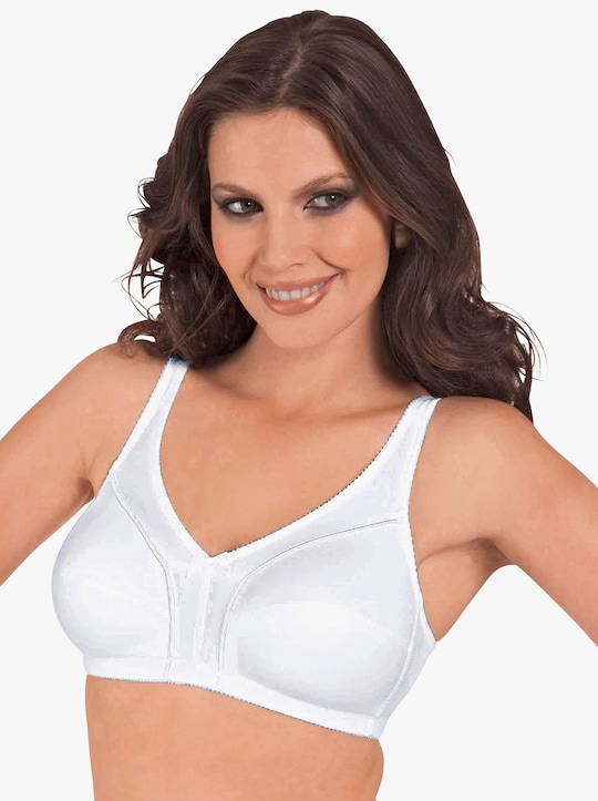 Viania BH ohne Bügel - weiß