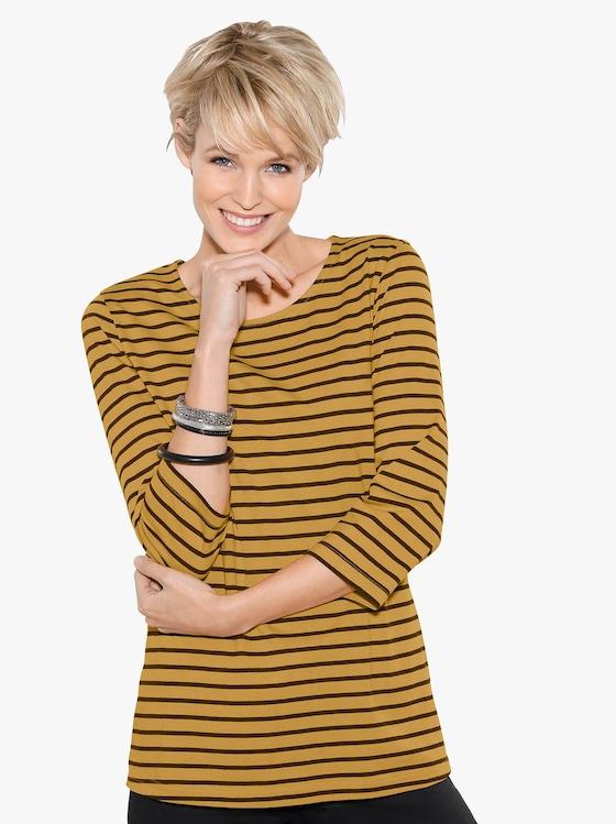 Shirt - Kerrie gestreept