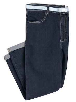 Capri-Jeans - blue-stone-washed