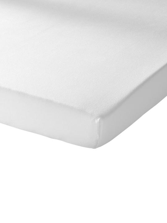 Schlafgut Spannbetttuch - weiß