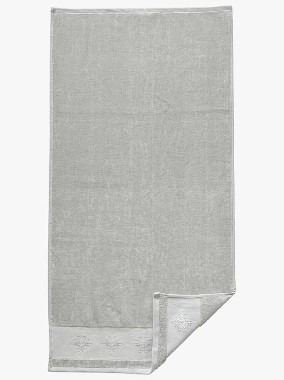 Handtuch - silbergrau