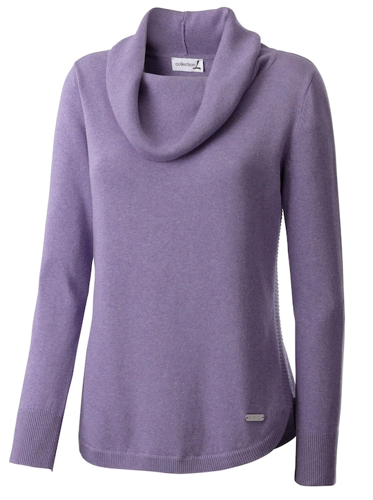 Collection L Pullover - lavendel gemêleerd