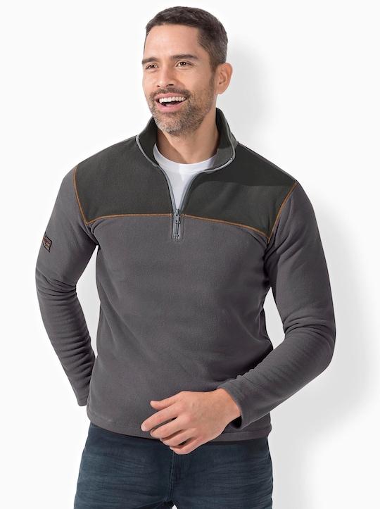 Catamaran Sports Fleece-Shirt - dunkelgrau