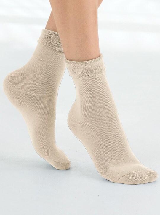 wäschepur Wellness-Socke - beige