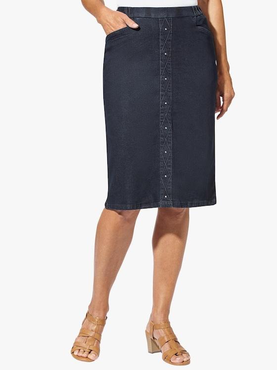 Jeans-Rock - dark blue