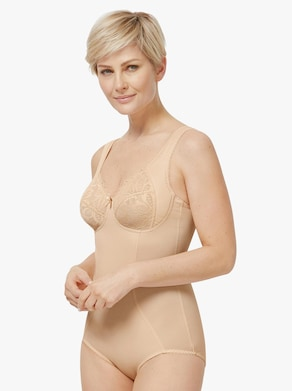 wäschepur Korselett utan bygel - hudfärgad