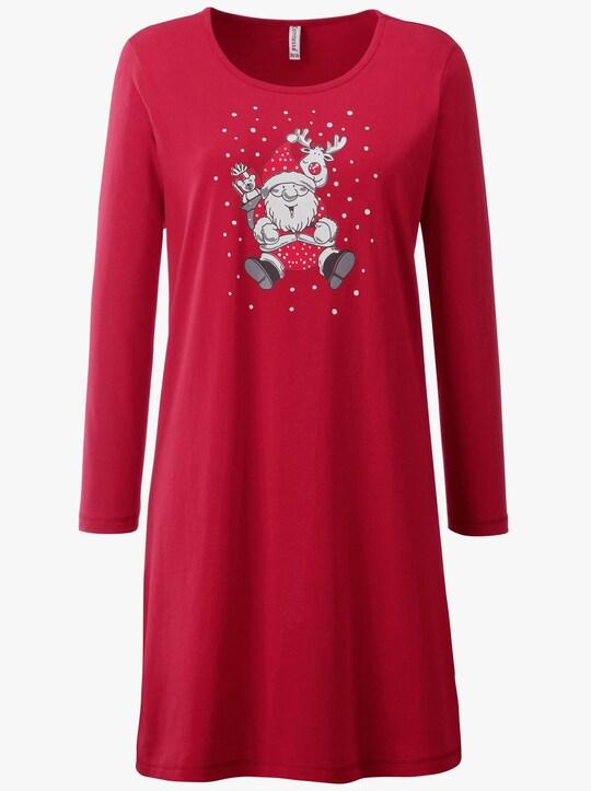 wäschepur Sleepshirt - rot