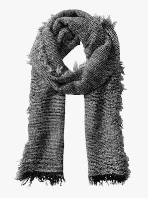 Schal - anthrazit