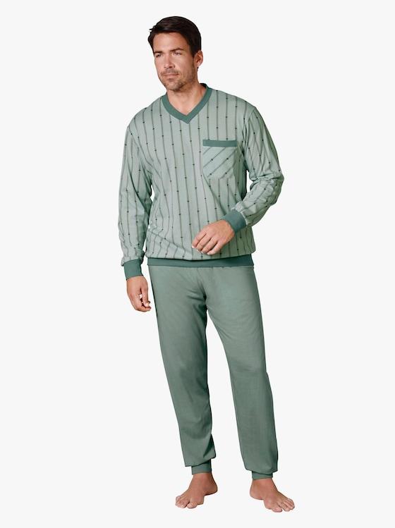 Schlafanzug - mint-petrol