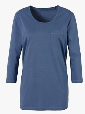 Schlafanzug-Shirt - blau