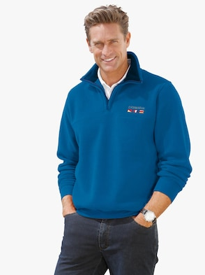 Fleecový svetr - královská modrá