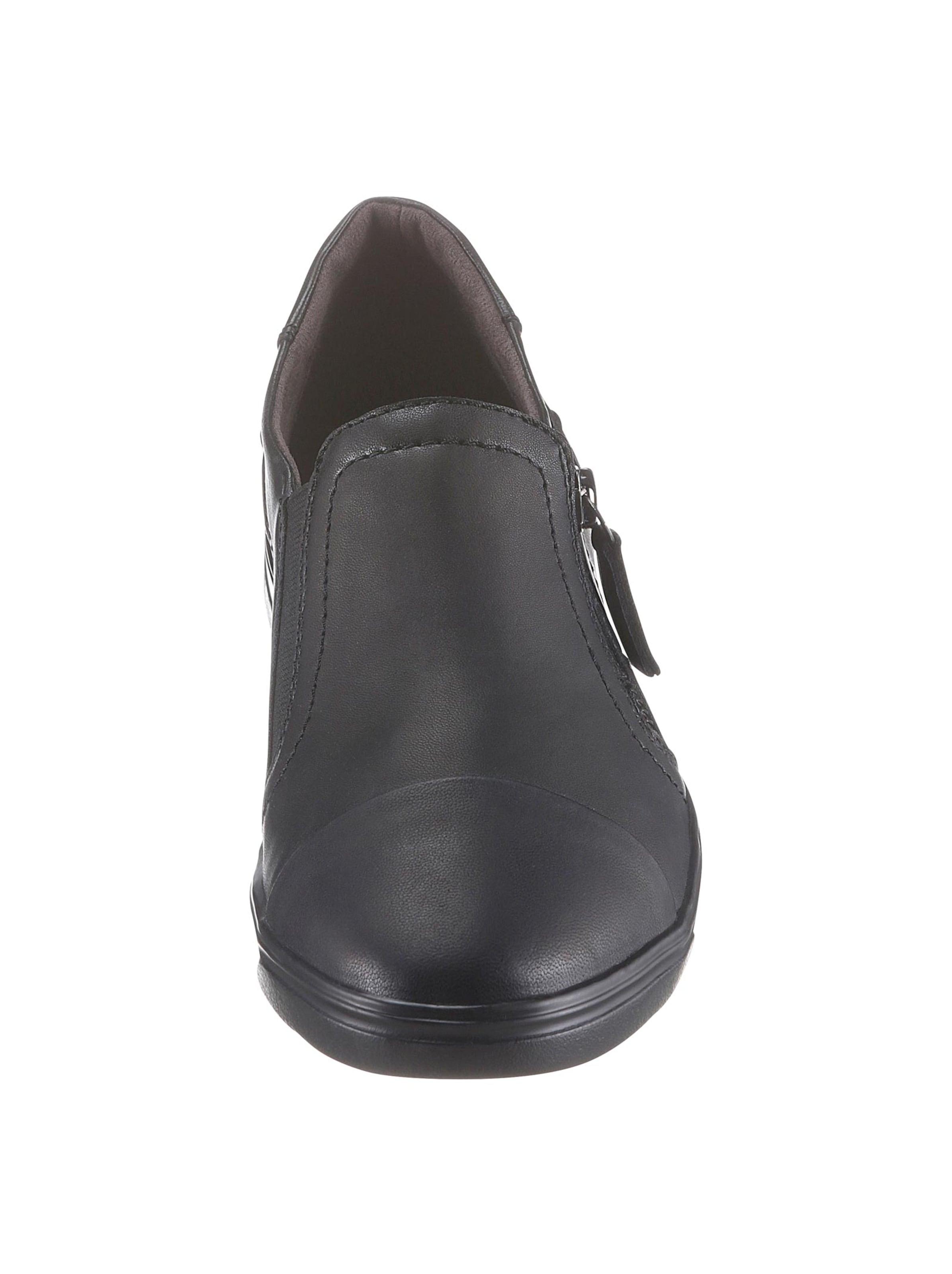 jana - Damen Slipper schwarz