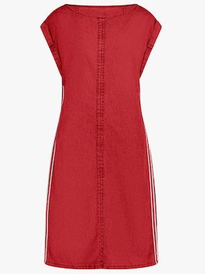 Šaty - třešňově červená