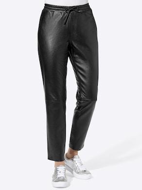Lederhose - schwarz