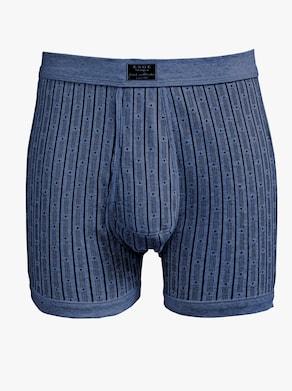 ESGE Hose kurz - dunkelblau-bedruckt