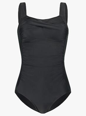 Badeanzug - schwarz