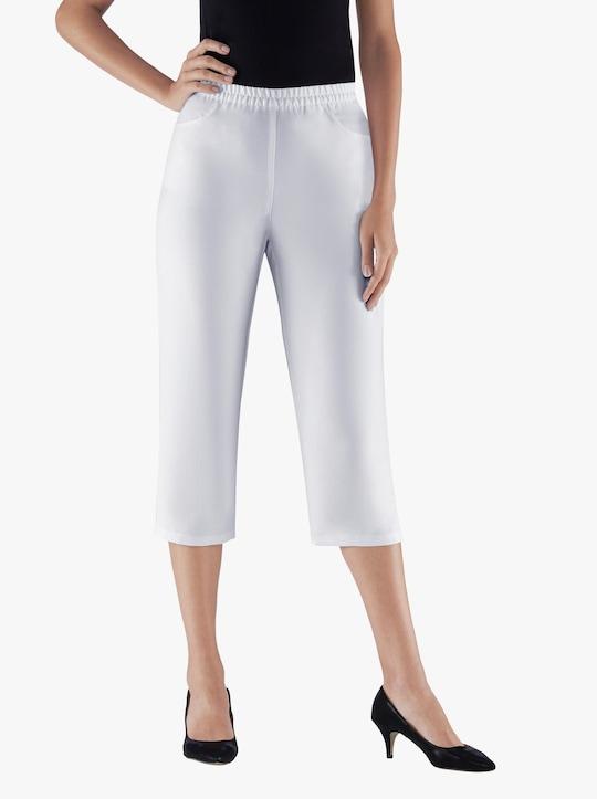 Capri-legging - wit