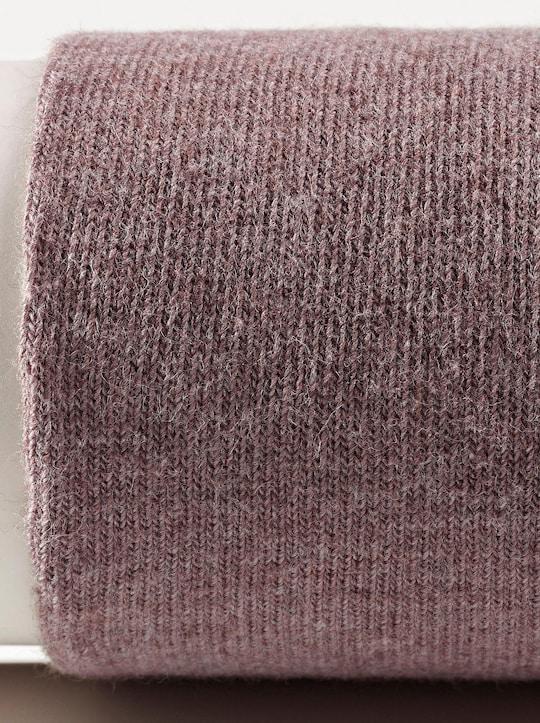 Hudson Strick-Strumpfhose - hellbraun-meliert
