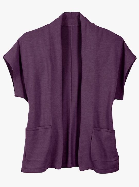 Vest - druif gemêleerd