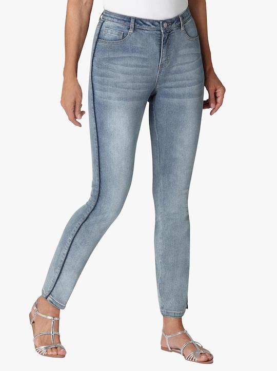 Jeans - blue-bleached