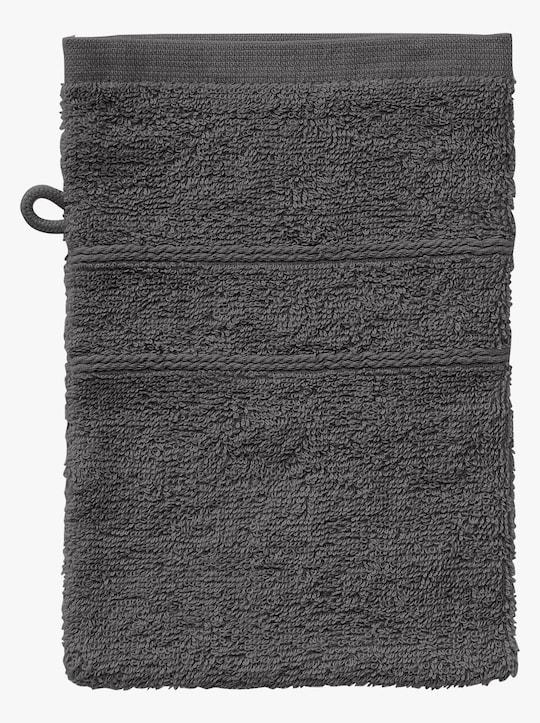 wäschepur 4-dlg. voordeelset handdoeken - antraciet