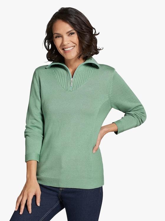Pullover - resedagrün