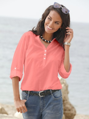 Collection L Blouse - zalmrood